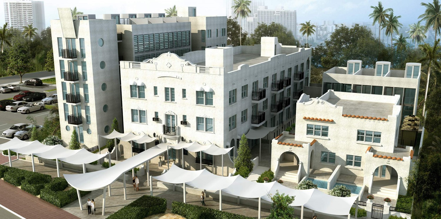 The Anglers Hotel Miami Beach Florida Front View